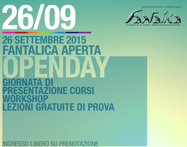 Open Day Associazione Fantalica